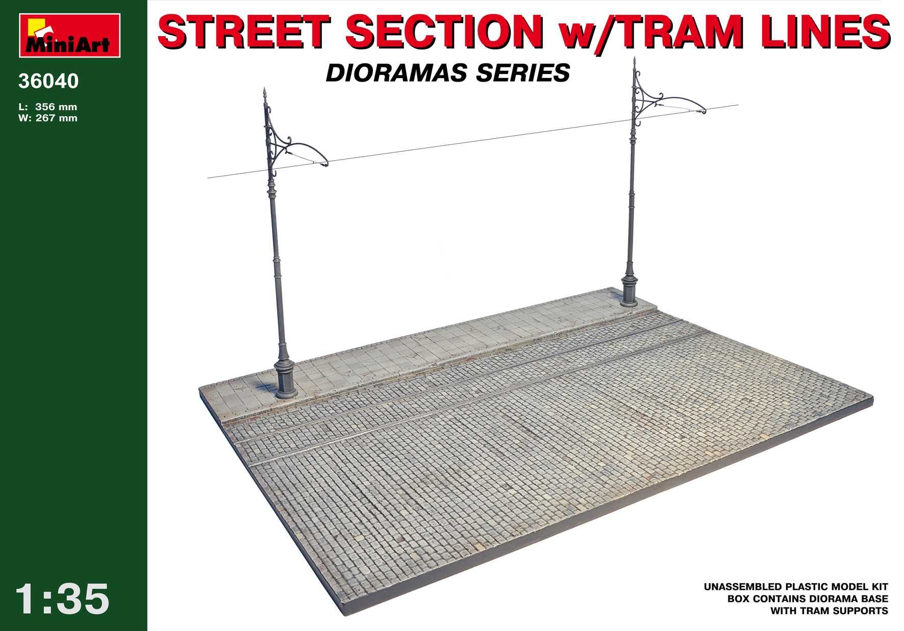 36040 STREET SECTION w/TRAM LINES