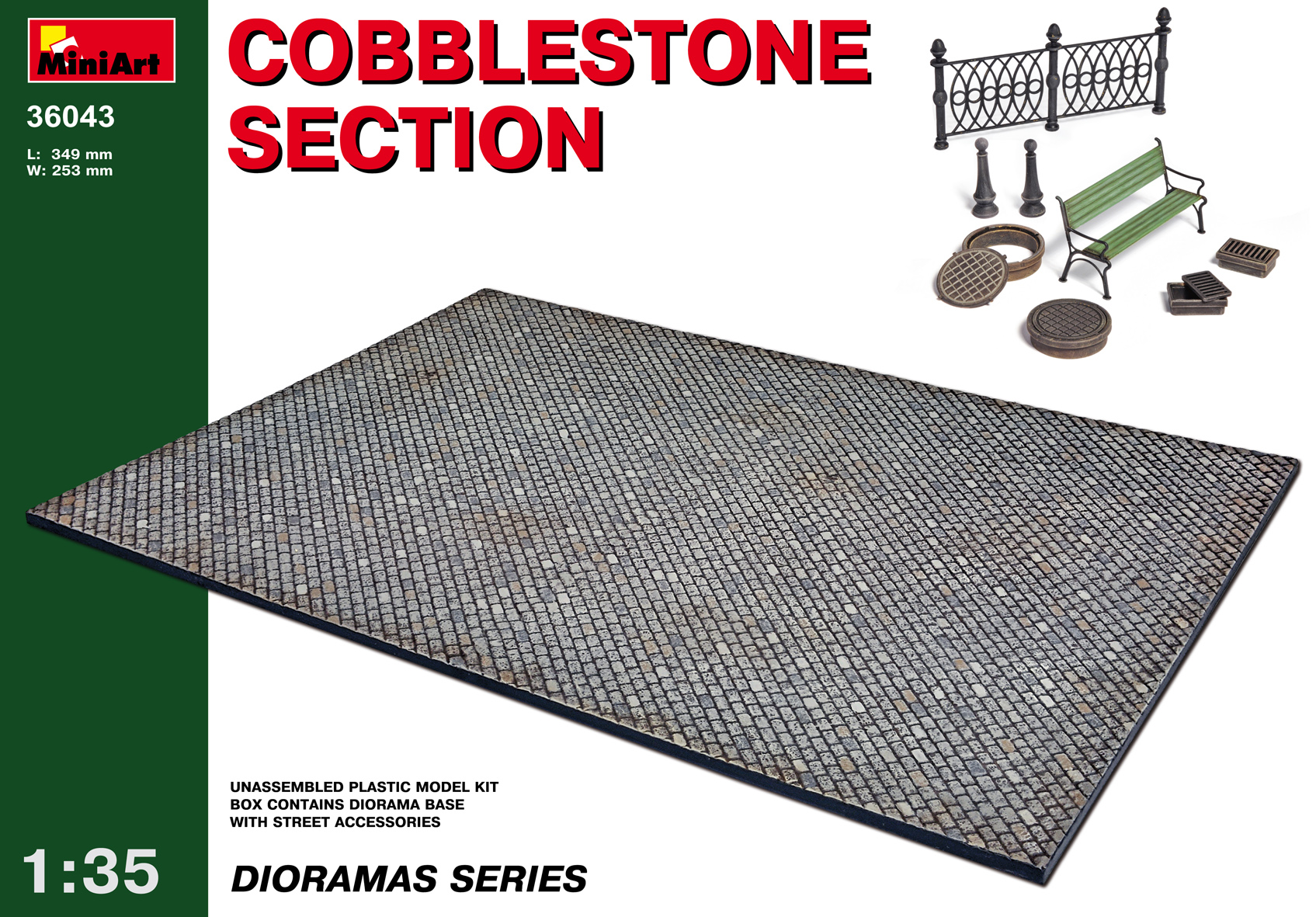 36043 COBBLESTONE SECTION