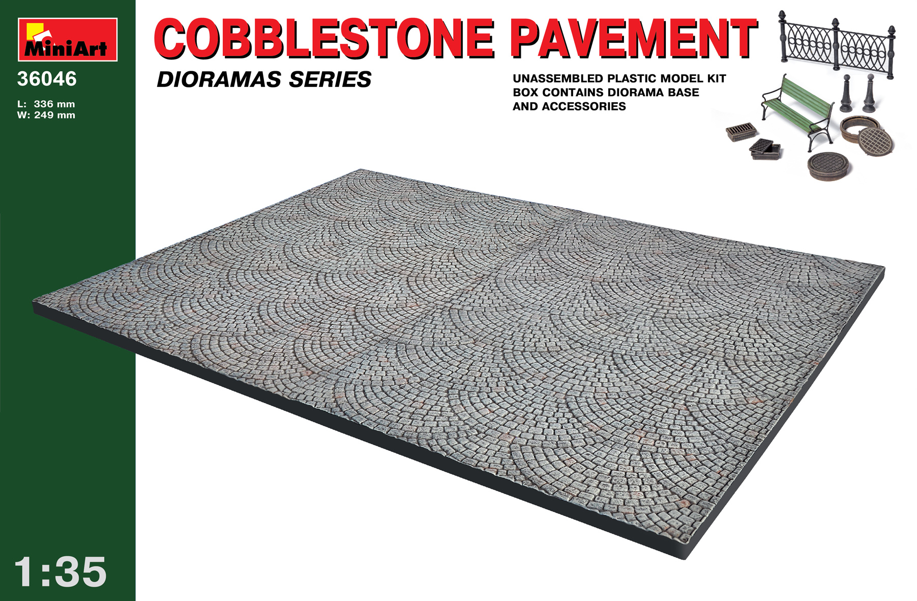 36046 COBBLESTONE PAVEMENT