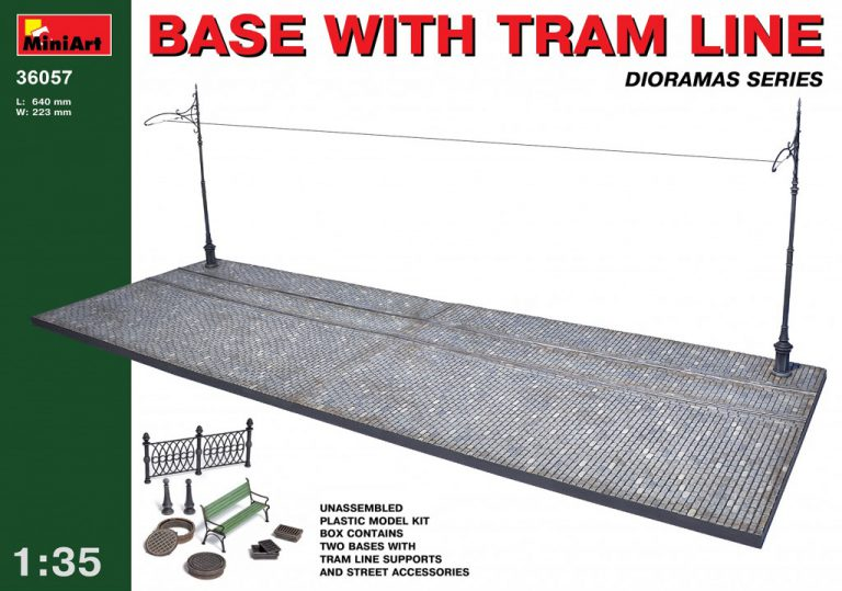 36057 BASE WITH TRAM LINE