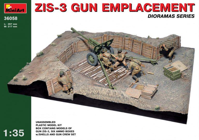 36058 ZIS-3 GUN Emplacement