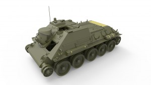 3D renders 35187 СУ-85 СОВЕТСКАЯ САМОХОДНАЯ УСТАНОВКА. Набор с полным интерьером