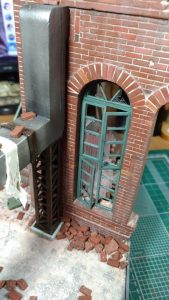Build up 36053 RUINED FACTORY w/BASE