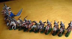 72007 FRENCH MOUNTED KNIGHTS. XV CENTURY