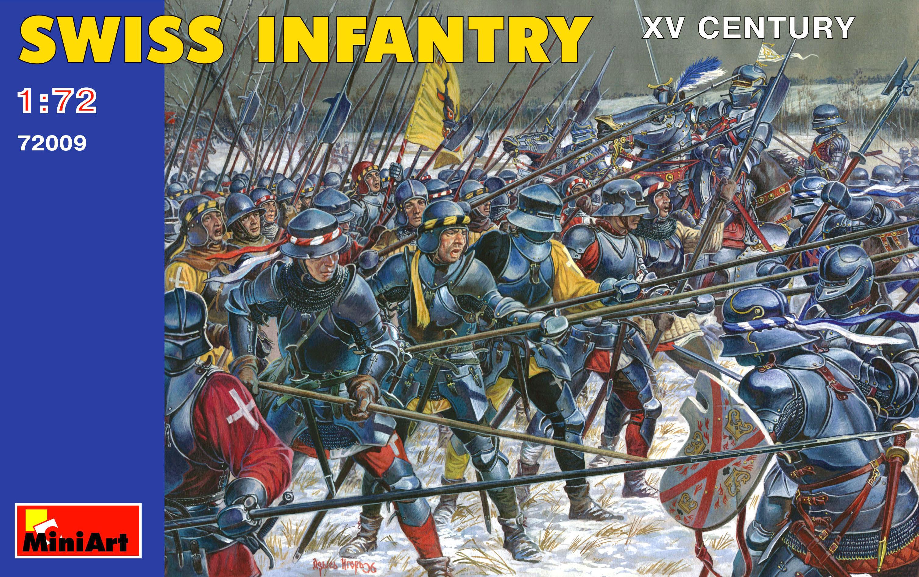 72009 SWISS INFANTRY XV CENTURY