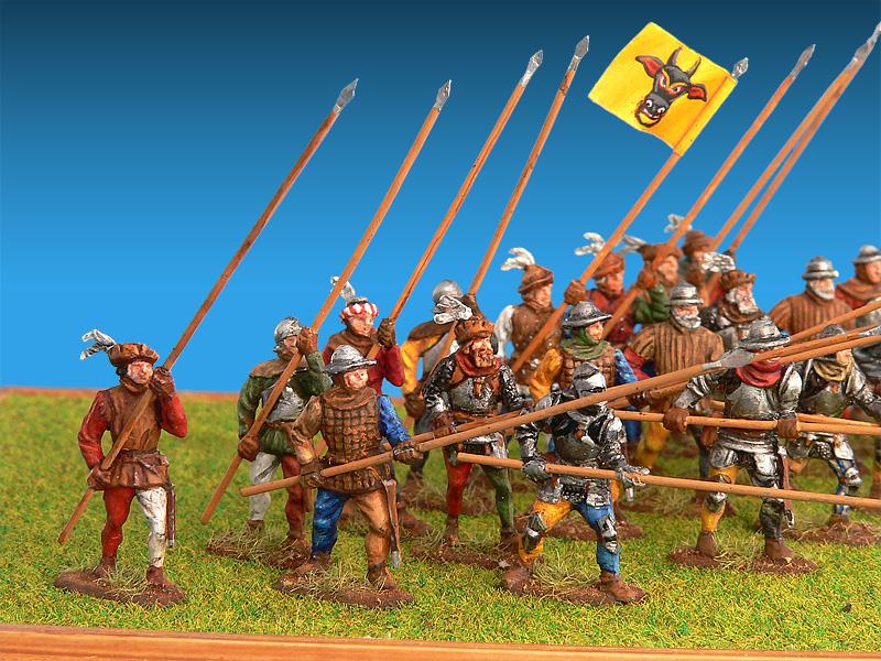 72009   瑞士步兵(十五世纪)