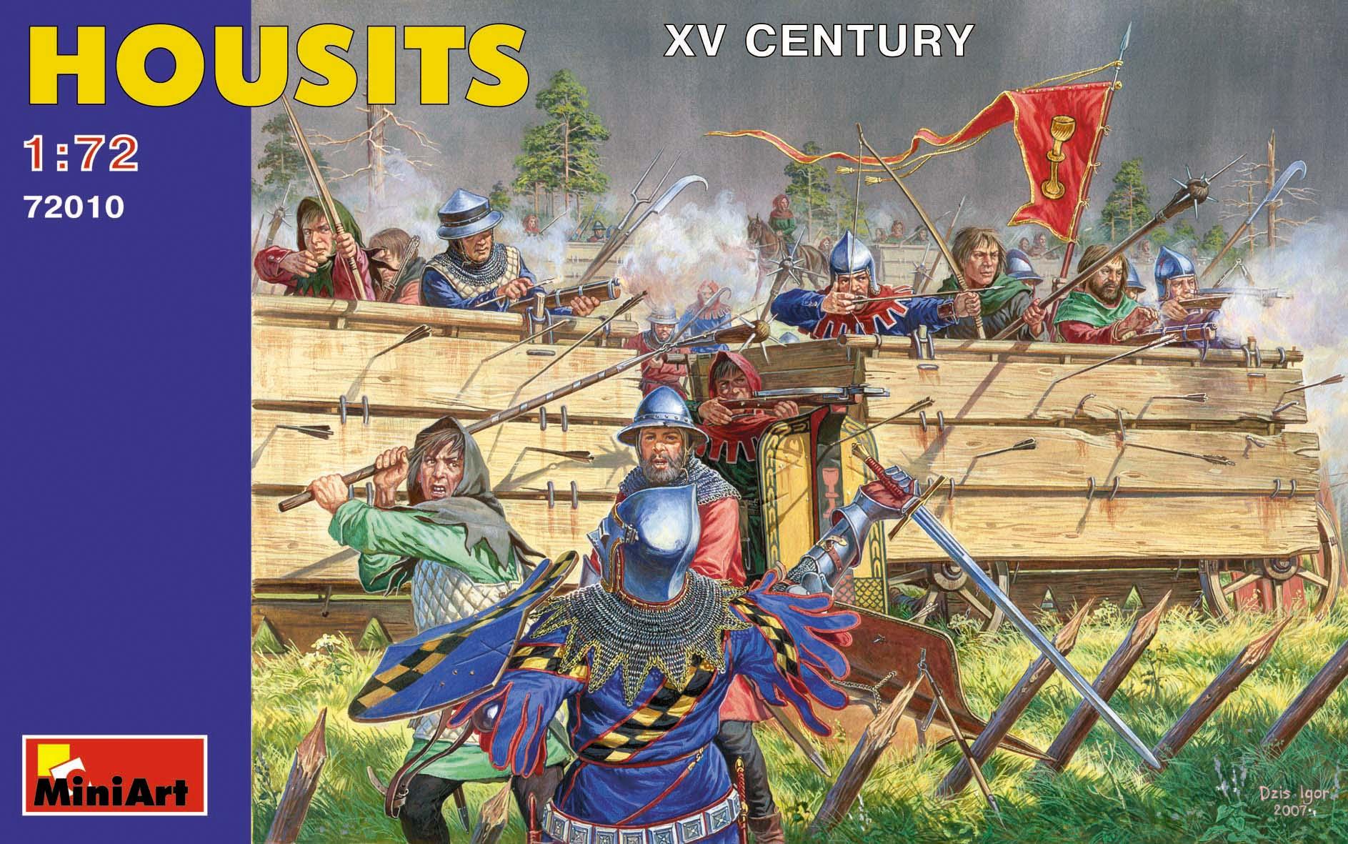72010HOUSITS(15世紀)フィギュアセット