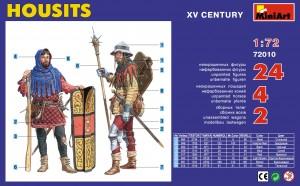 Content box 72010HOUSITS(15世紀)フィギュアセット