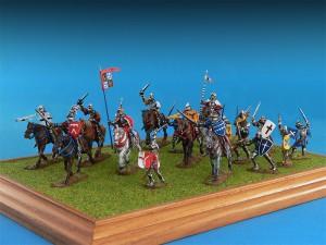 Photos 72011ドイツ騎兵(15世紀)フィギュアセット
