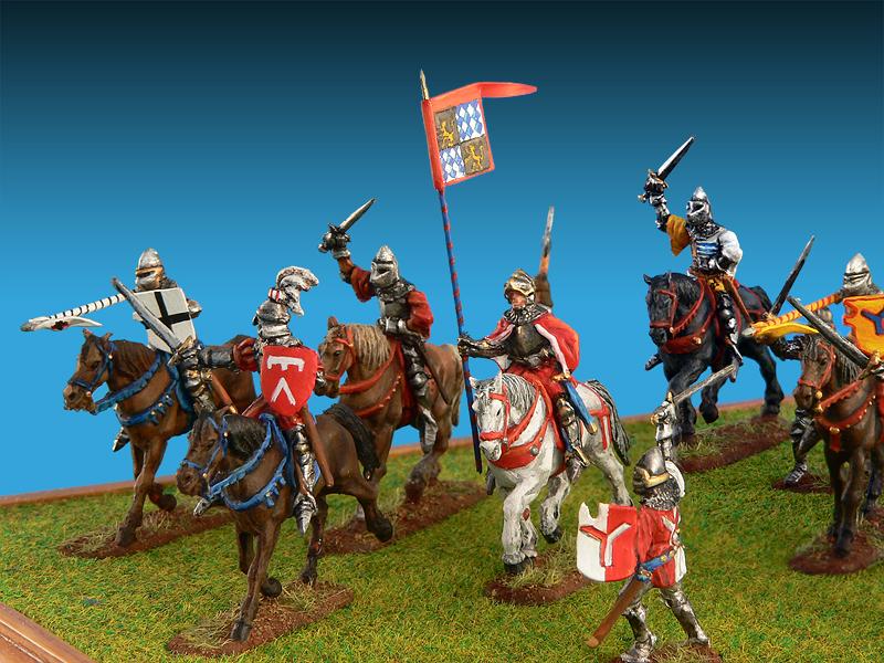 72011ドイツ騎兵(15世紀)フィギュアセット
