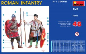 Content box 72012 ROMAN INFANTRY. IV-V CENTURY