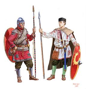 72012 ROMAN INFANTRY. IV-V CENTURY