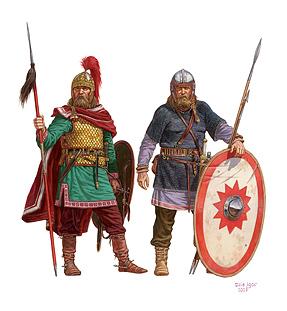 72013ゲルマン戦士(4-5世紀)フィギュアセット