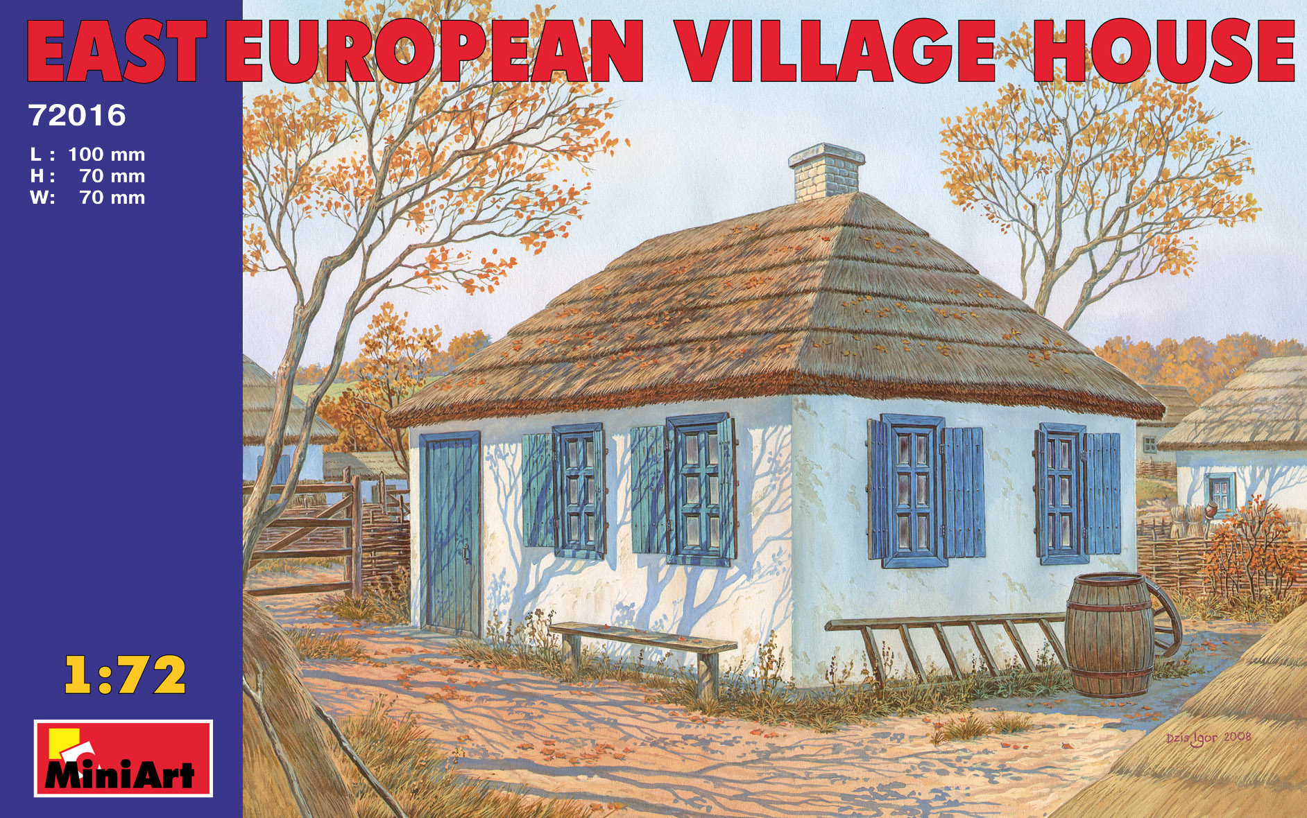 72016 EAST EUROPEAN VILLAGE HOUSE