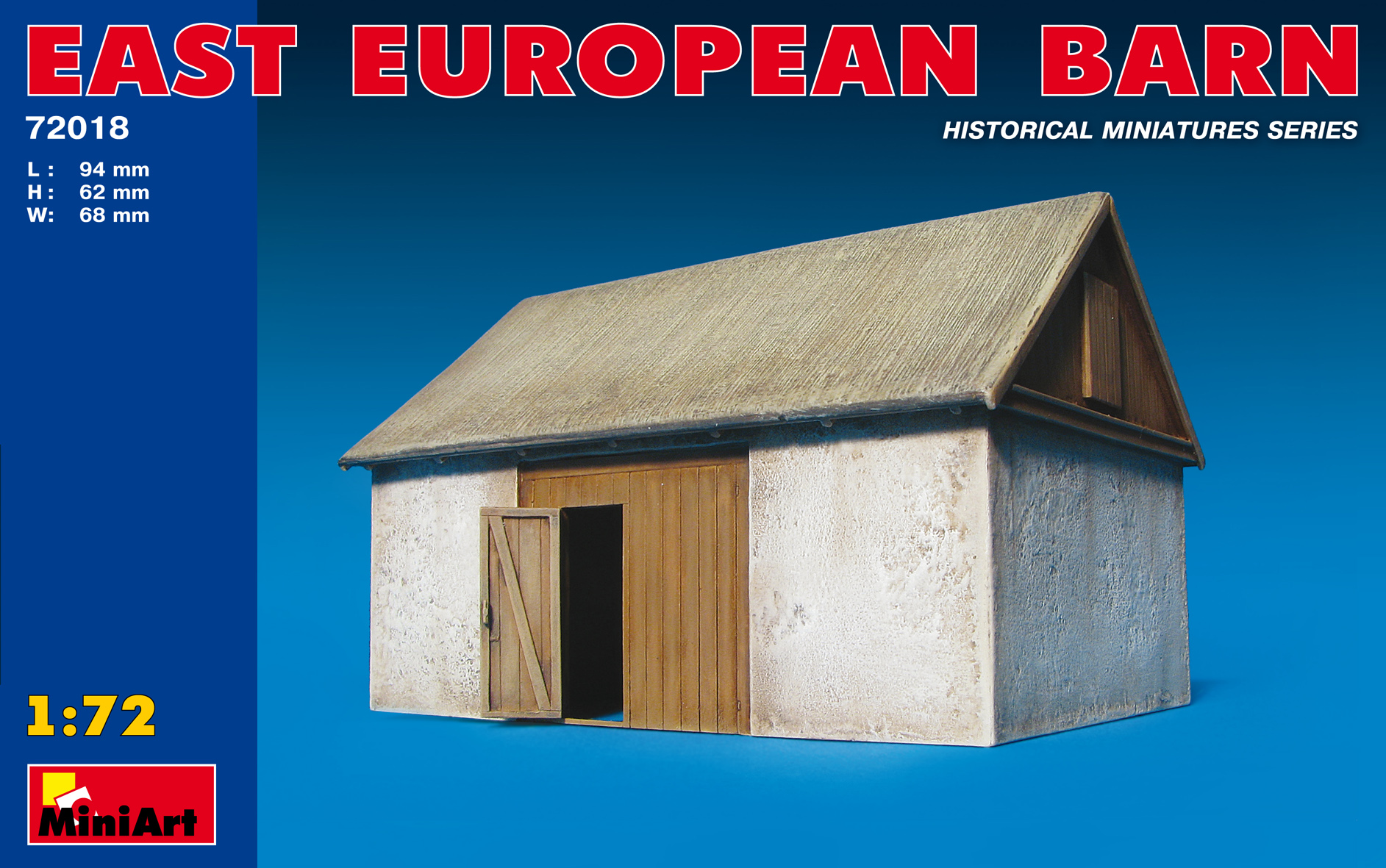 72018 EAST EUROPEAN BARN