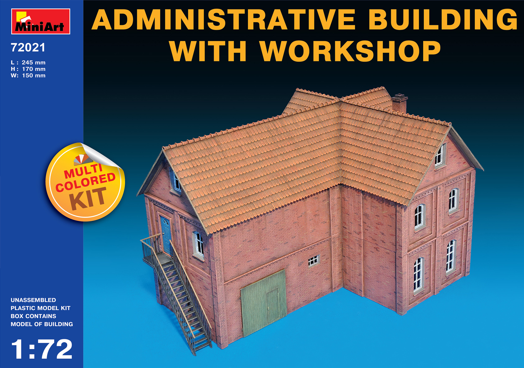 72021 ADMINISTRATIVE BUILDING WITH WORKSHOP