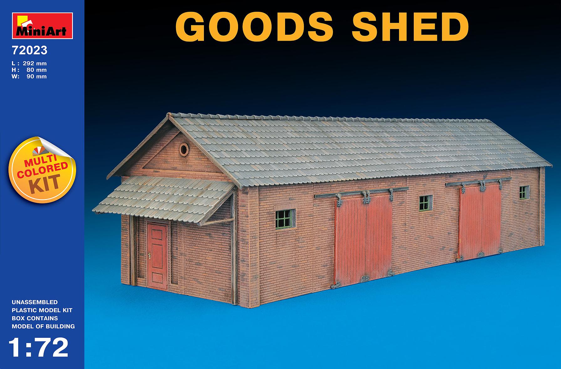 72023倉庫 GOODS SHED(マルチカラ-キット/4色)