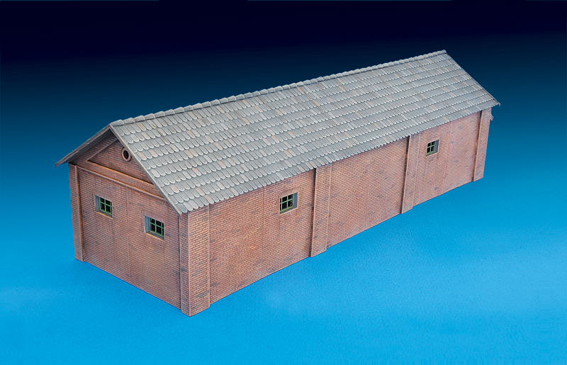 Miniart 72023-1:72 Goods Shed