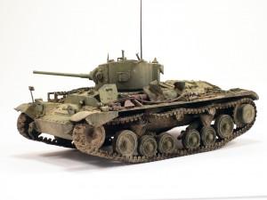 35092 VALENTINE Mk IV RED ARMY w/CREW