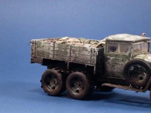 35133 GAZ-AAA Mod. 1943 CARGO TRUCK