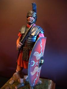 16006 PRAETORIAN GUARDSMAN II CENTURY A.D. + 16007 ROMAN LEGIONARY II CENTURY A.D.