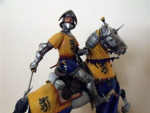Conversion: 16002 GERMAN KNIGHT XV CENTURY + 16015 FRENCH CUIRASSIER NAPOLEONIC WARS