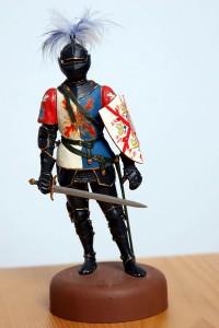 16003 BURGUNDIAN KNIGHT XV CENTURY