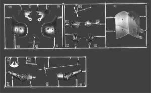 Content box 16002 GERMAN KNIGHT XV CENTURY