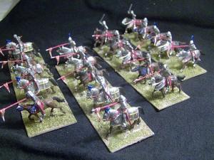 72006 BURGUNDIAN MOUNTED KNIGHTS. XV CENTURY