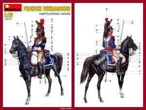 Content box 16015 FRENCH CUIRASSIER NAPOLEONIC WARS