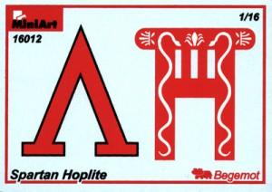 Content box 16012 SPARTAN HOPLITE V CENTURY B.C.