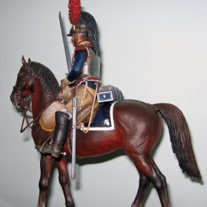 16015 FRENCH CUIRASSIER NAPOLEONIC WARS