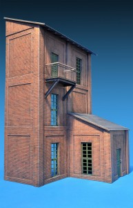 35546 INDUSTRIAL BUILDING SECTIONS 35552 SECTIONS OF BRICK BUILDING + 35518 FLAT TILE ROOF + 35545 BUILDING STAIR