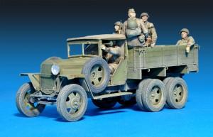 35173 GAZ-AAA Mod. 1941 SOVIET CARGO TRUCK