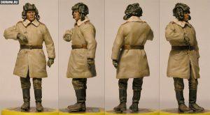 35022 SOVIET TANK CREW. WINTER 1943-45 + Vladimir Demchenko