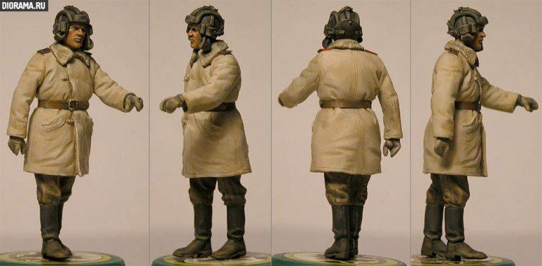 35022 SOVIET TANK CREW. WINTER 1943-45