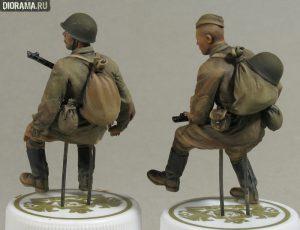 35055 SOVIET SOLDIERS RIDERS + Vladimir Demchenko