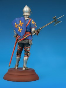 16001 FRENCH KNIGHT. XV CENTURY