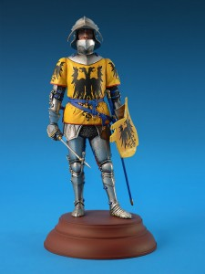 16002 GERMAN KNIGHT. XV CENTURY