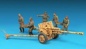35033 GERMAN 7,62 cm GUN FK288(r) w/CREW