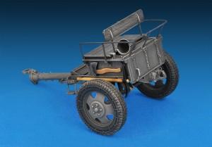 35039 GERMAN ARTILLERY TRACTOR T-70(r) & 7,62cm FK 288(r) w/CREW