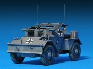 35074 DINGO Mk.II SCOUT CAR w/CREW Pz.Kmpf. Mk.I 202(e)