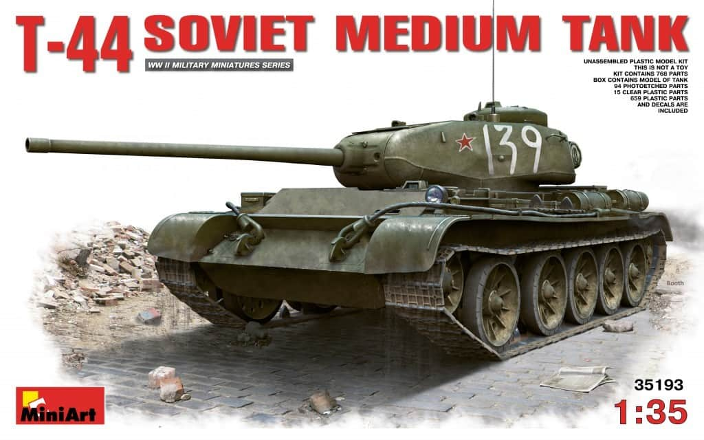 New Tank T-44 is coming soon