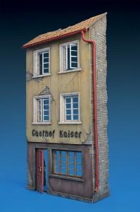 35538 GERMAN RUINED GASTHOF
