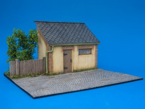 36032 DIORAMA WITH BARN