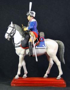 16033 TRUMPETER. 1st Westphalian Cuirassiers Regiment 1813