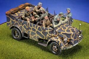 35139 Kfz.70 MB 1500A GERMAN 4×4 CAR w/CREW