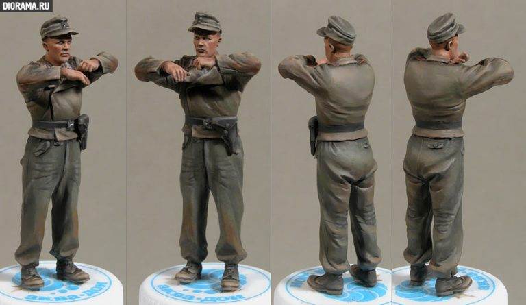 35054 GERMAN SPG CREW RIDERS