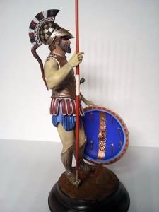 16012 SPARTAN HOPLITE. V CENTURY B.C. + 16013 GREEK HOPLITE. IV CENTURY B.C. + 16014 ATHENIAN HOPLITE. V CENTURY B.C. + 16029 GLADIATOR + 16006 PRAETORIAN GUARDSMAN. II CENTURY A.D.
