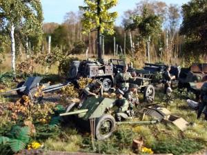 35090 SOVIET INFANTRY AMMO BOXES + 35115 SOVIET LIMBER 52-R-353M Mod. 1942